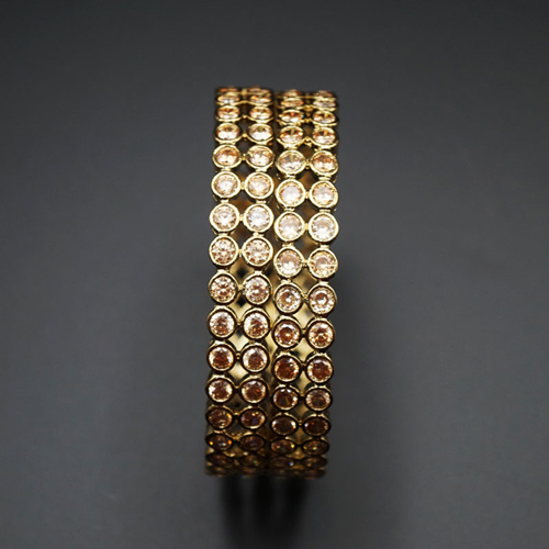 Mukti Gold Polki Stone Kharas -AntiqueGold