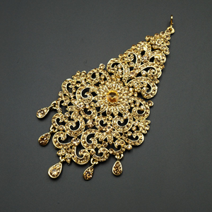 Qira Gold Diamante Passa/Jhoomer - Gold
