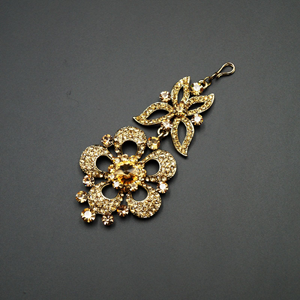 Ibhi Gold Diamante Passa/Jhoomer - Gold