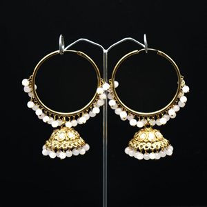 Sahas- Nude (Hoop) Bali Earrings -AntiqueGold