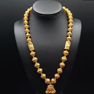 Jatoo- Gold Mala Necklace - Gold