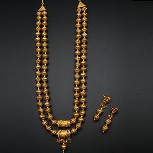 Ridit- Gold Mala Necklace - Gold