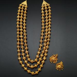 Noshi - Gold Mala Necklace - Gold