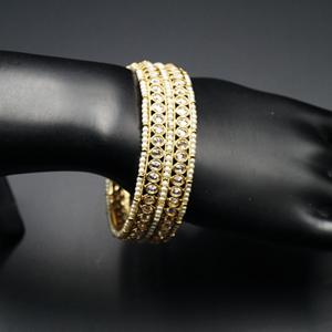 Alini Gold Polki Stone Kharas -AntiqueGold