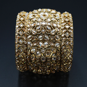 Edha Gold Polki Stone Kharas -AntiqueGold