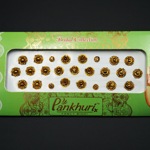 Pankhuri - Gold Pack Diamante Bindi