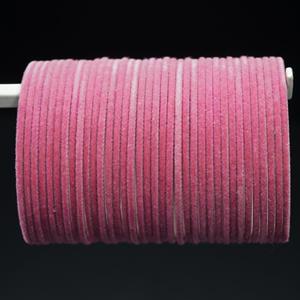 Pink Velvet Bangles