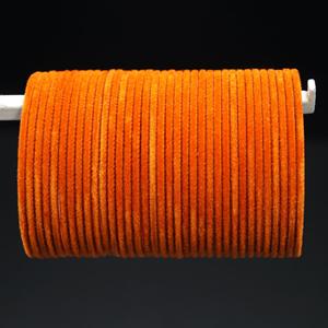 Orange Velvet Bangles