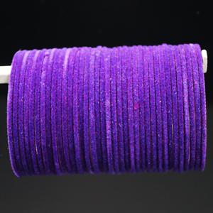 Purple Velvet Bangles