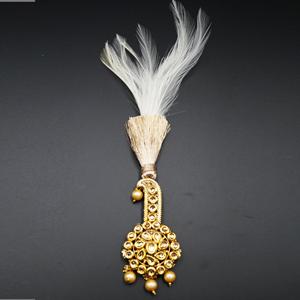 Lucas - Gold KundanStone Kalgi - Gold