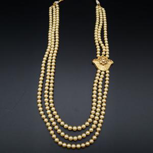 Lohit Groom Sherwani Haar - Gold