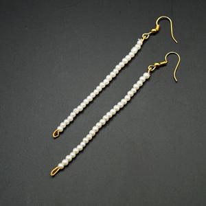 White Pearl Sahara for Earrings