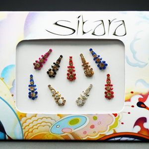 Sitara - Multi Pack Diamante Bindi