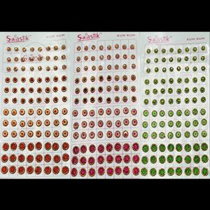 Swastik Platinum 10 Page Bindi Book - Design 1