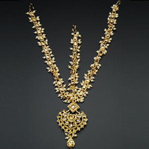 Hethal Mathaa Pathi Kundan and Pearl- Gold