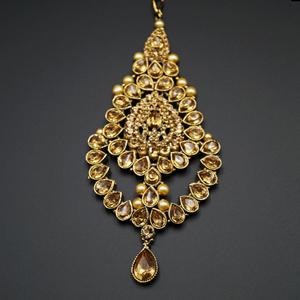 Prem  Gold/ Pearl Passa / Jhoomer- gold
