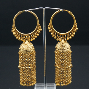 Kosi Bali (Hoop) Earrings -Gold