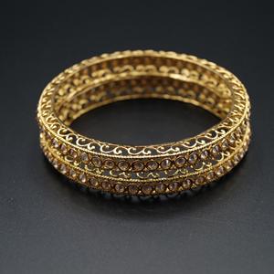 Padma Gold Polki Stone Khara's -AntiqueGold