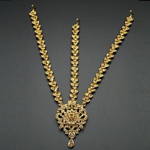 Yasti Gold Diamante Mathaa Pathi - Gold