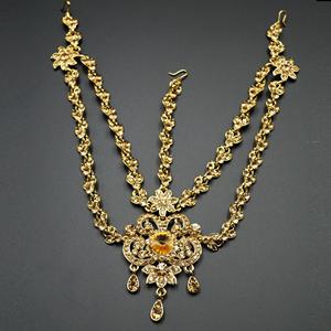Liya Gold Diamante Mathaa Pathi - Gold