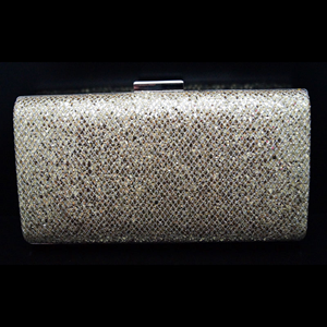 Zana Gold Clutch Bag