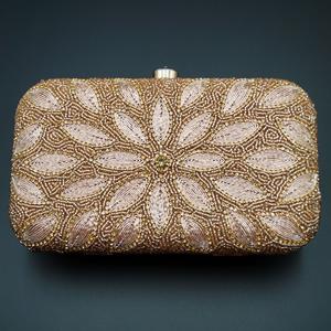 Hirva- Pink Clutch Bag