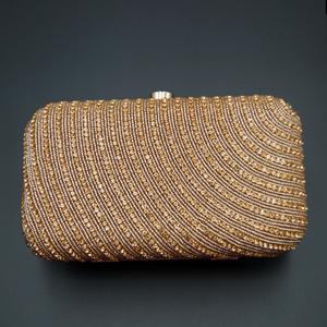 Silpai - Pink Stone Clutch Bag