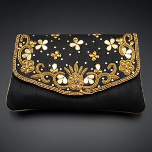 Yaad - Black Clutch Bag