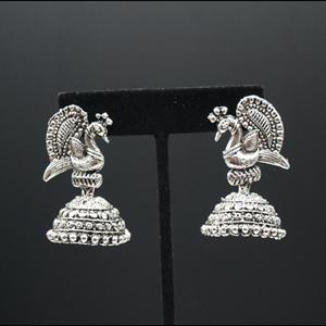 Evneet- Jhumka- Silver
