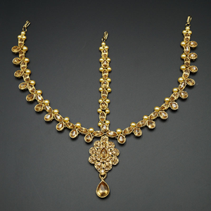 Mehir Gold Diamante Mathaa Pathi - Gold